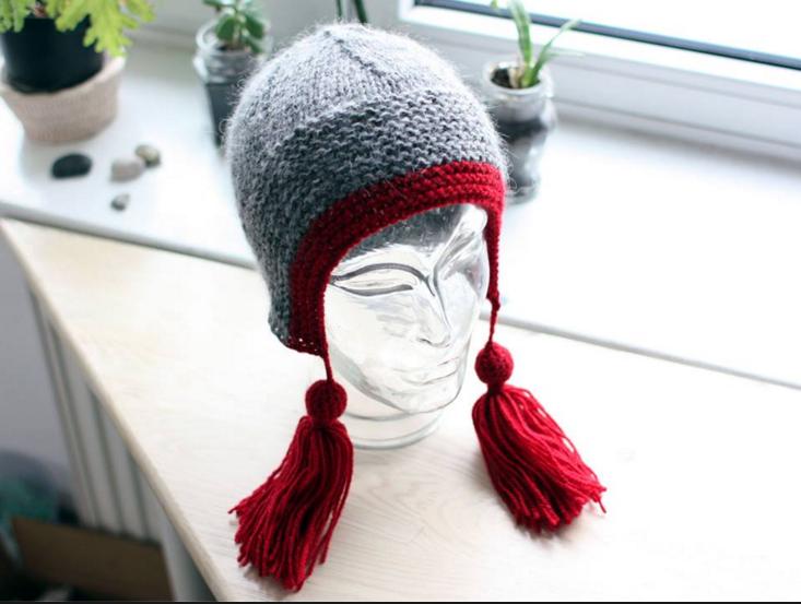 (Polski) czapka z frędzlami